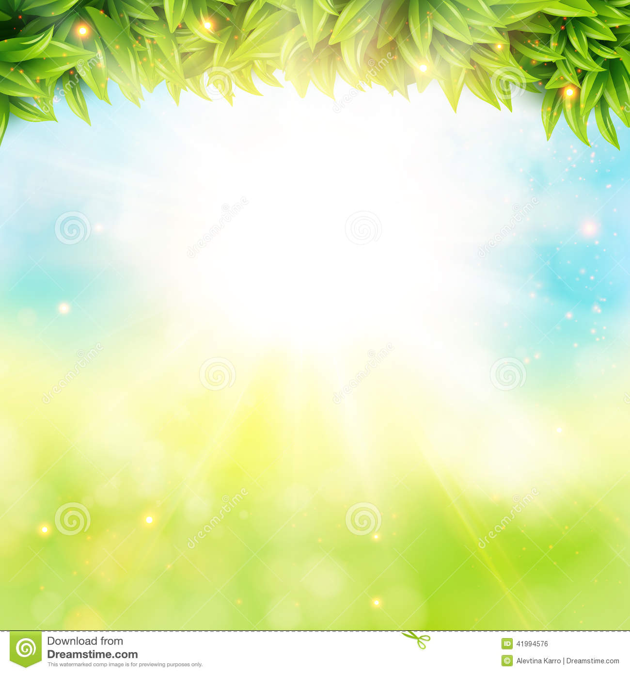 New background images environment free wallpaper - Abstract Spring Poster With Shining Sun And Blurred
