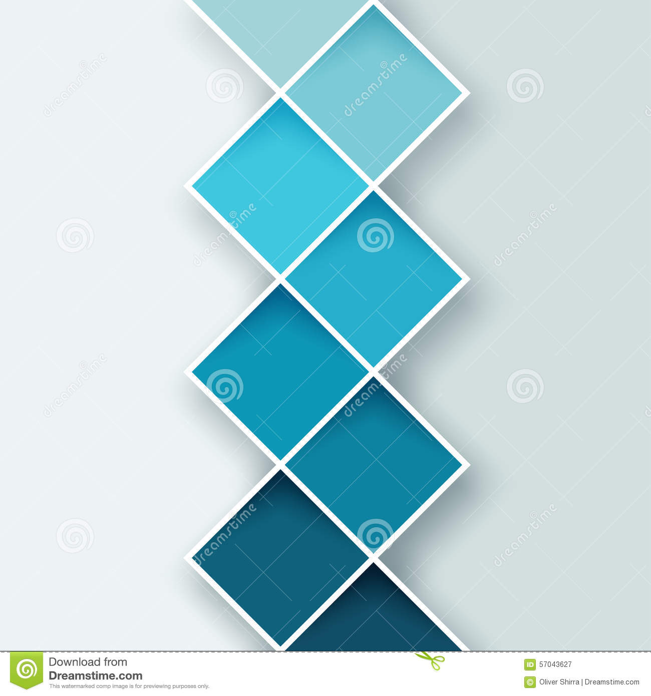 Abstract Square Background 1 Stock Illustration Image