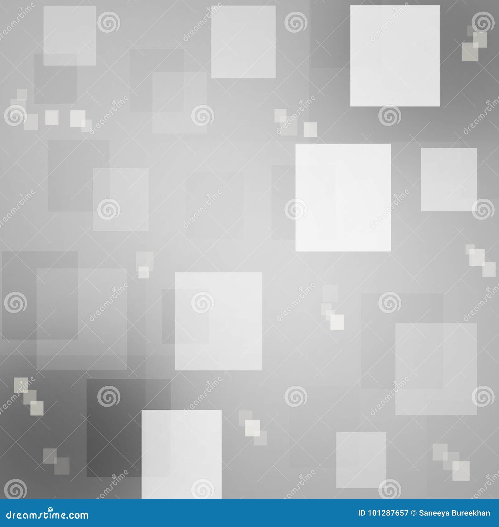 Abstract Square Bokeh