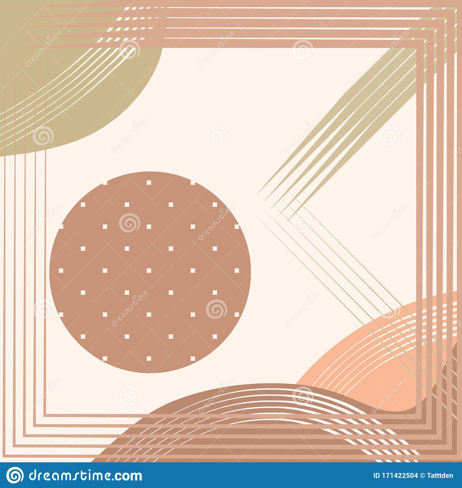 Abstract Square Print Cute Geometrical Background For Scarf Print Napkin Fabric Covers Scrapbooking Decoupage Bandana Pareo Stock Vector Illustration Of Frame Pareo 171422504