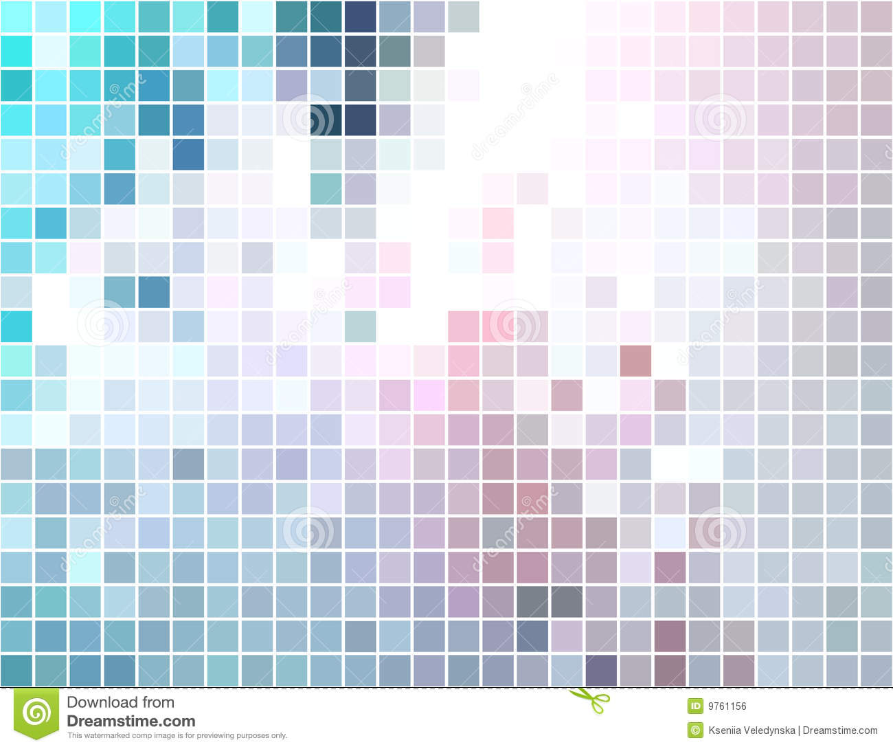 Abstract Square Tiled Mosaic Background Royalty Free Stock