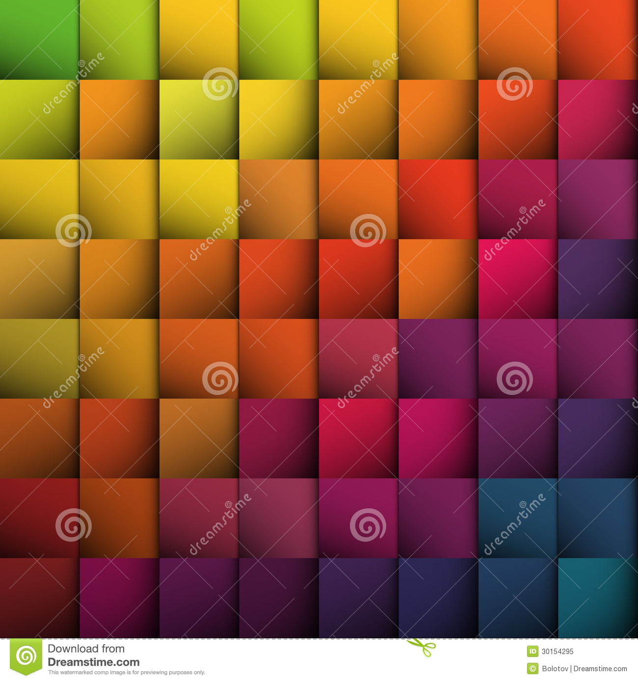 Abstract squares background.