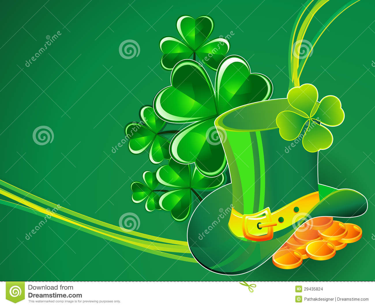 abstract st patrick theme - photo #13
