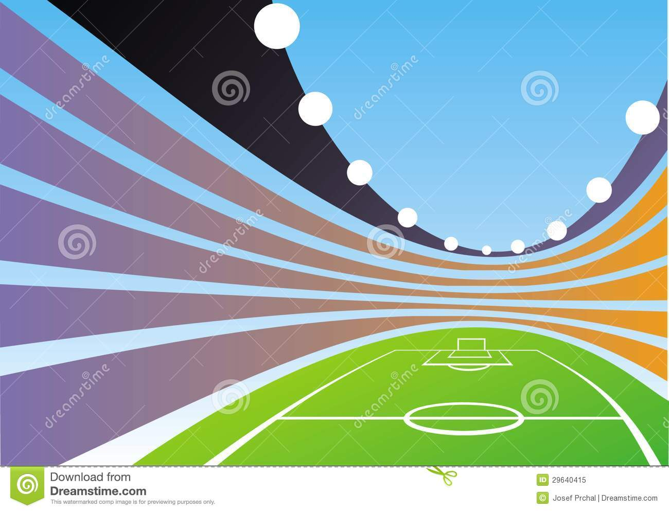 Abstract Sports Background Royalty Free Stock Image: Abstract Stadion Background Royalty Free Stock Photo