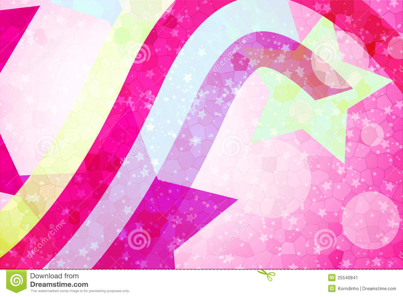 Abstract Star Background And Wallpaper Stock Image Image