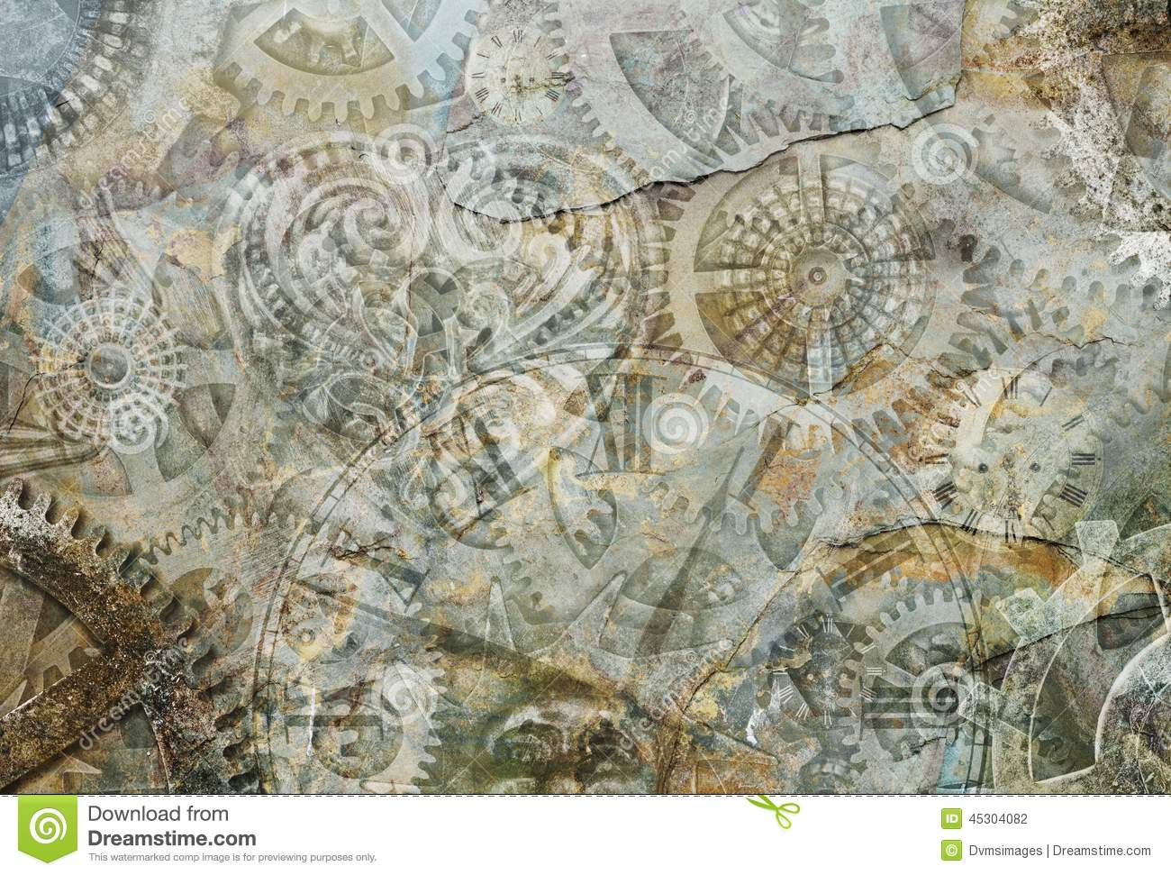 steampunk cogs abstract fantasy - photo #10
