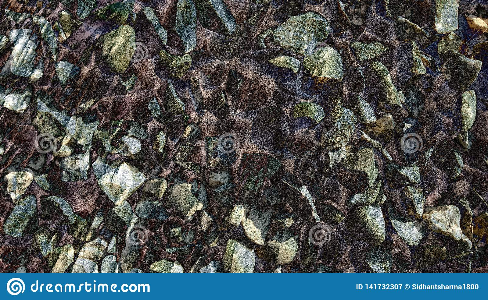 Abstract stone animated style stone texture with background wallpaper.