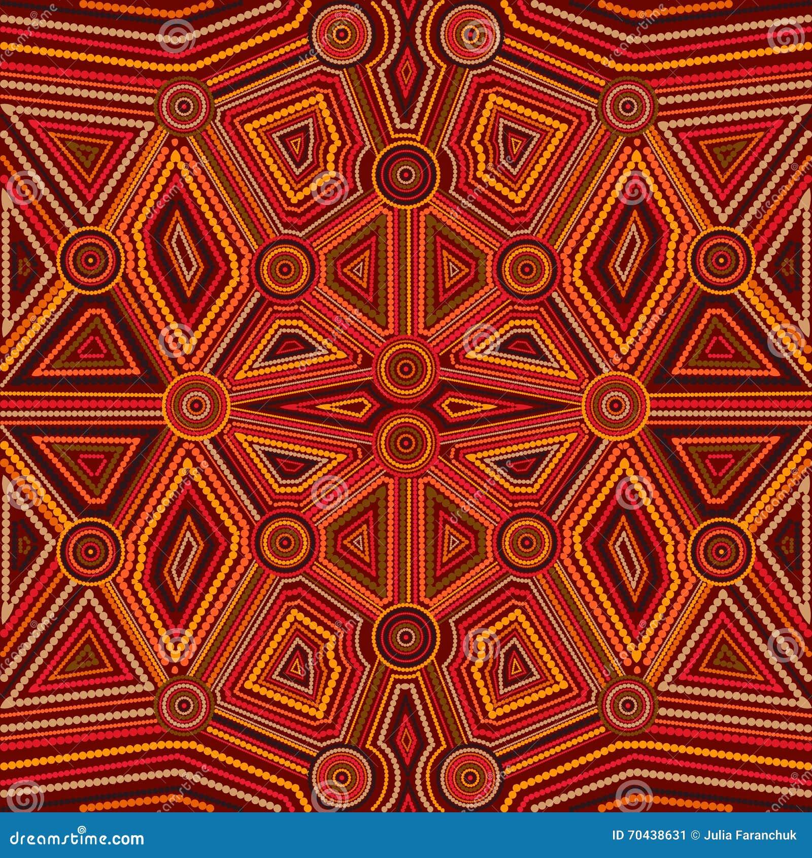 Abstract style of australian aboriginal art stock illustration abstract style of australian aboriginal art toneelgroepblik Image collections