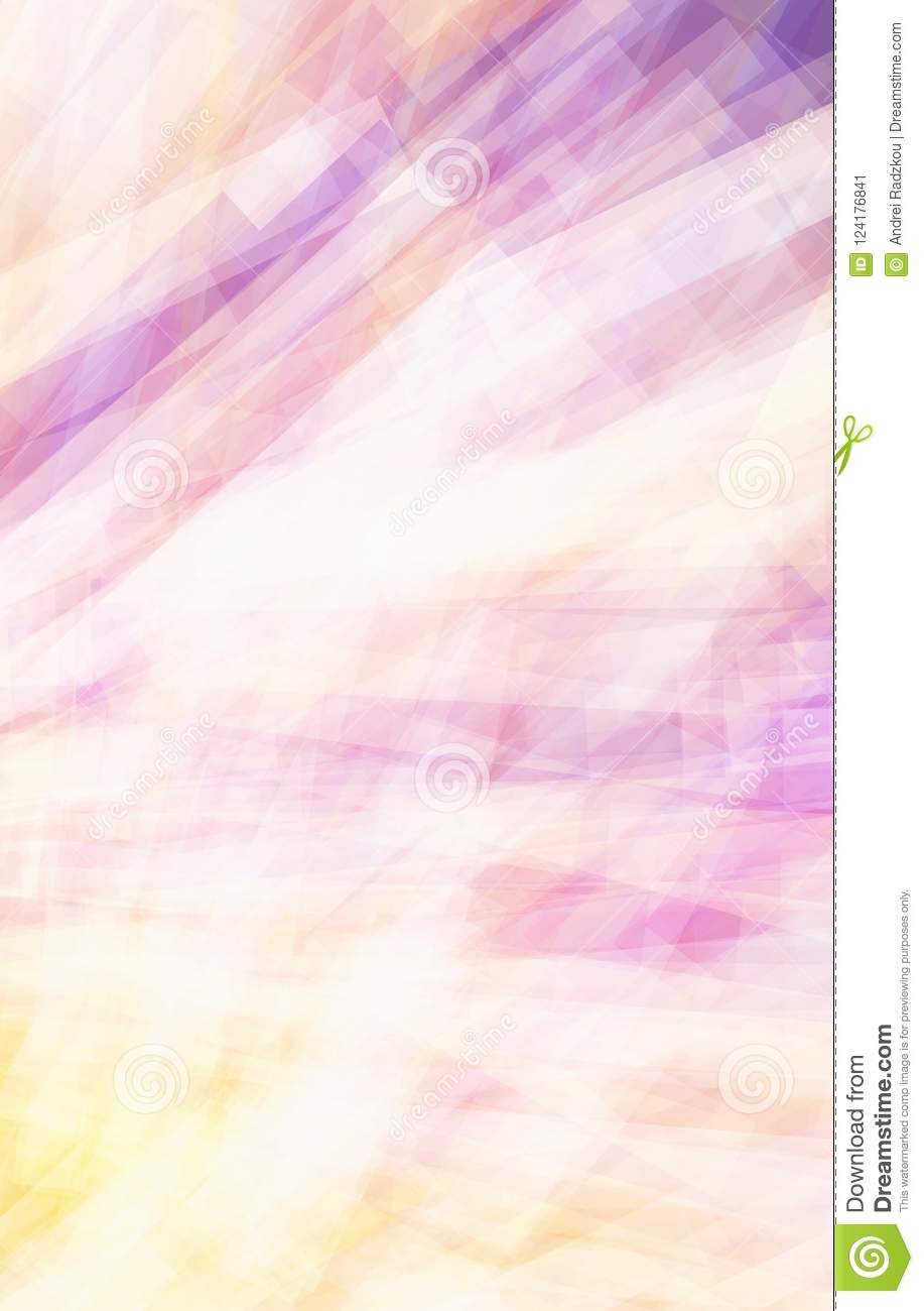 Subtle violet and yellow background. Vector pattern
