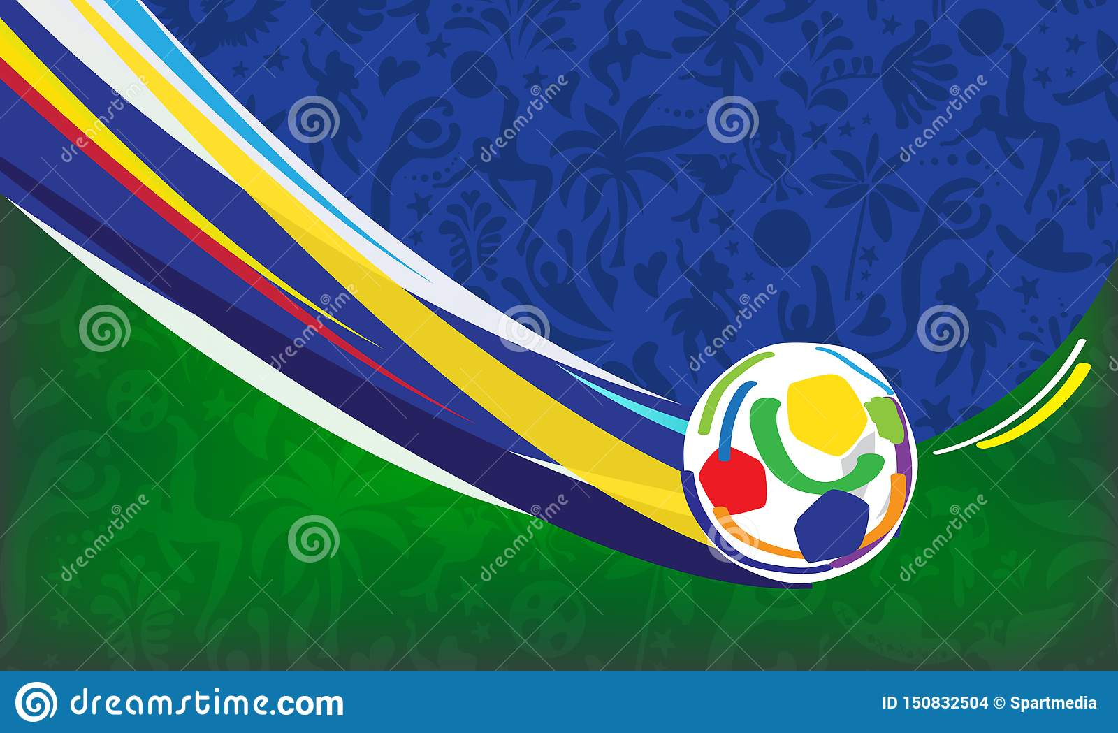Обои flag, fireworks, football, Brasil. Спорт foto 16