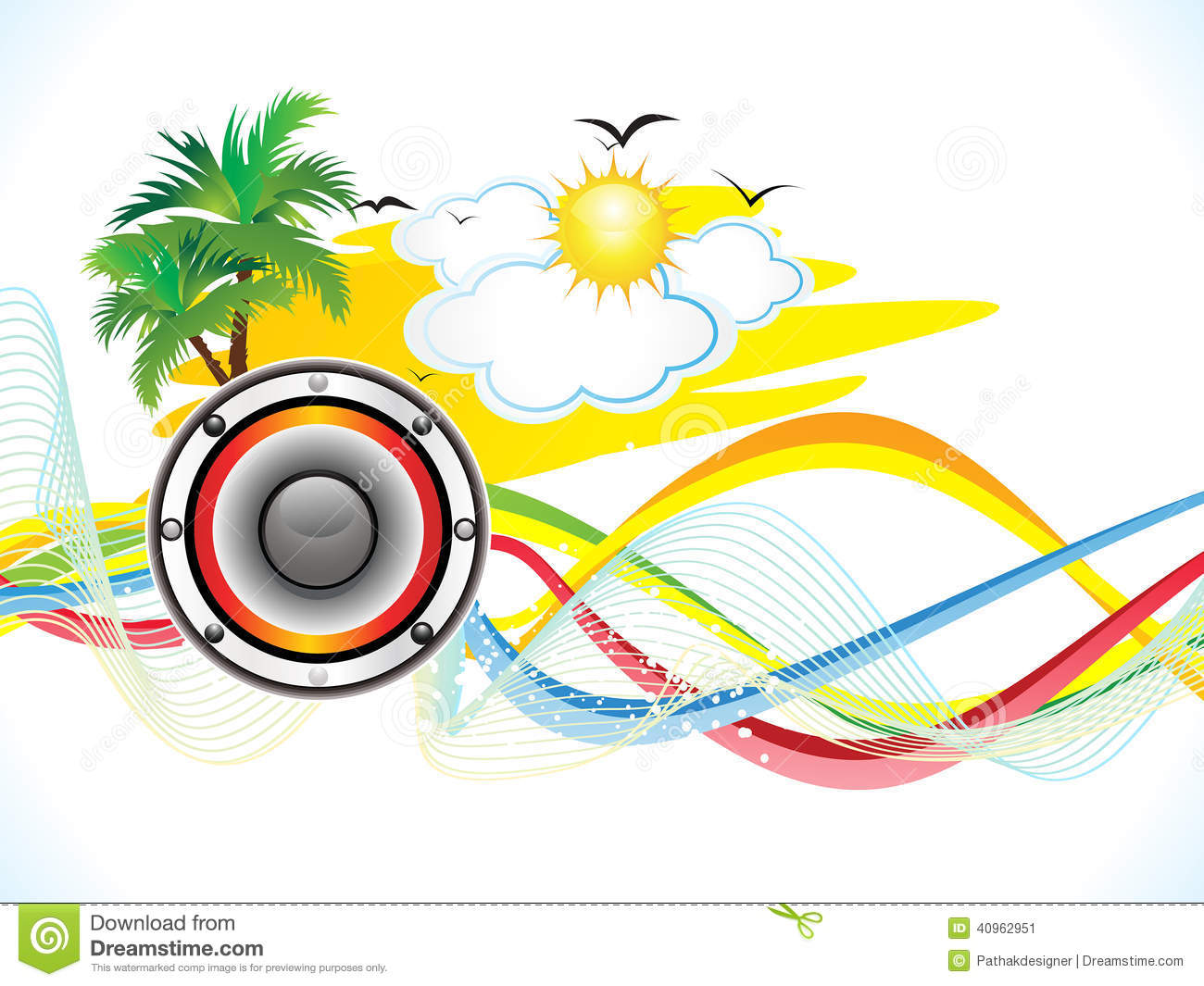abstract summer holiday party background stock vector image abstract summer holiday party background