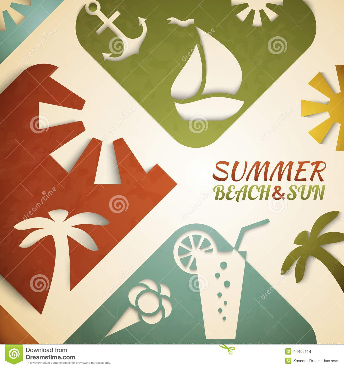 summer vector illustraitons - photo #12