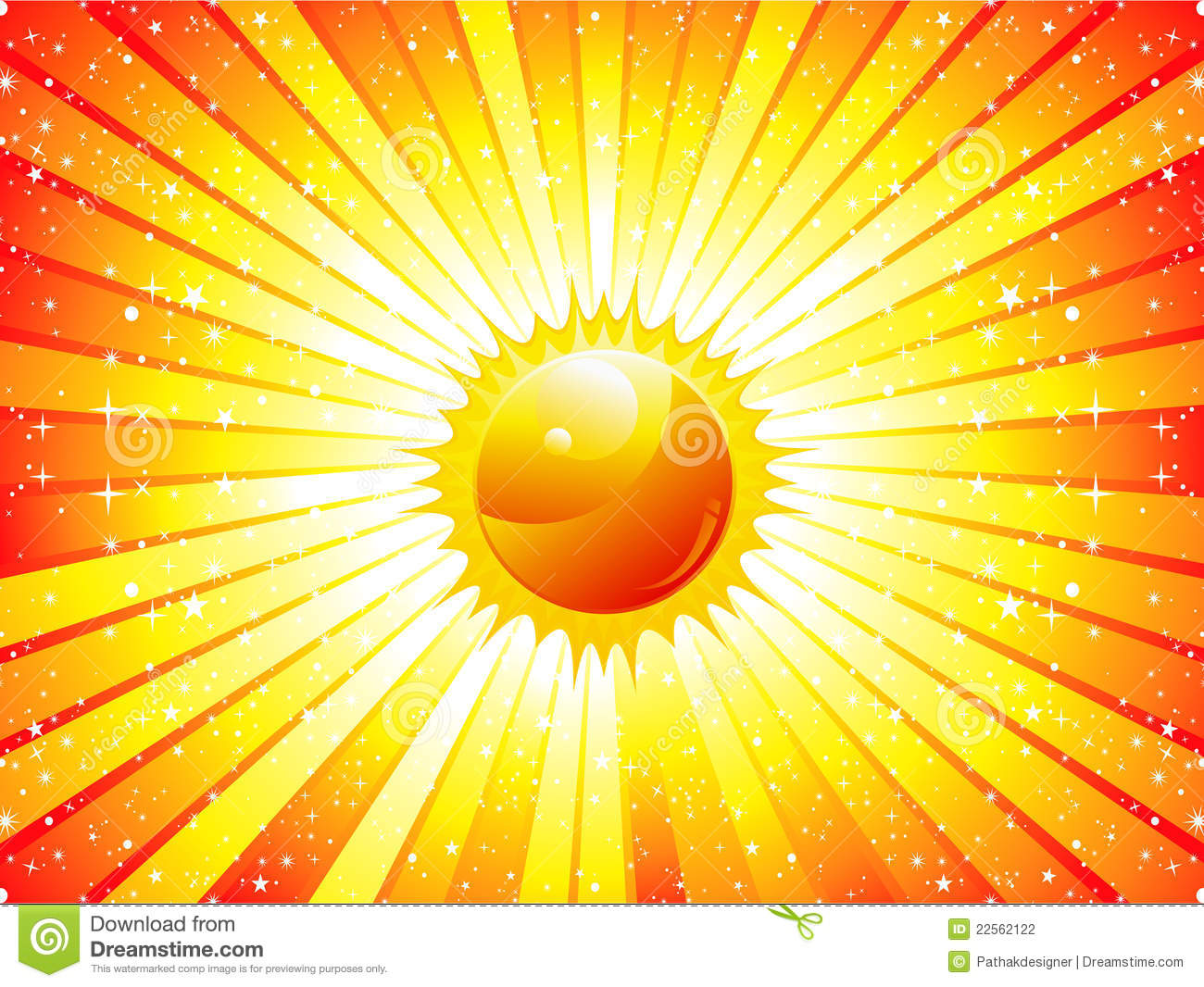 abstract sunbeam background with sun stock photography