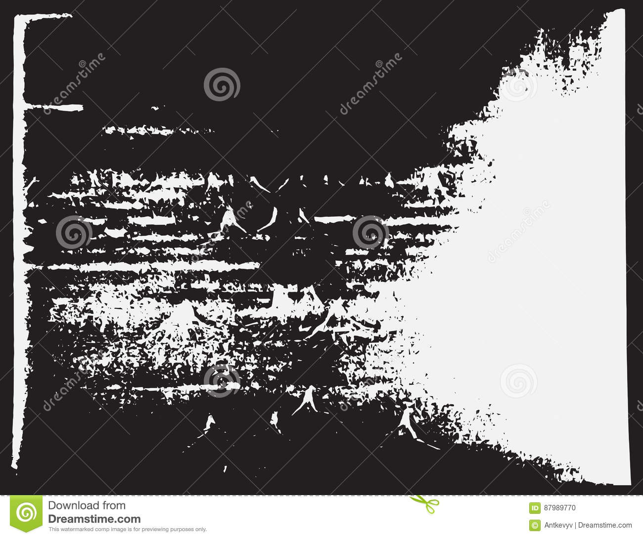 Abstract Surface Old Rough Retro Design. Vector Illustration. Aged ...
