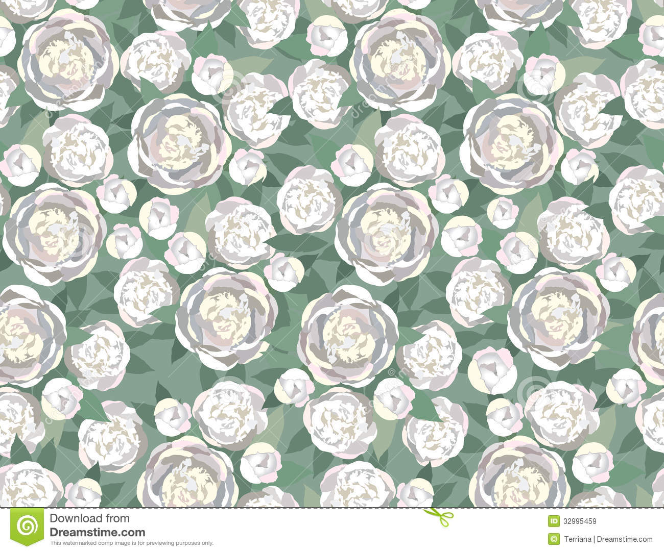 Abstract Swirl Flower Rose Seamless Texture Stock Illustration ... for seamless floral fabric textures  157uhy