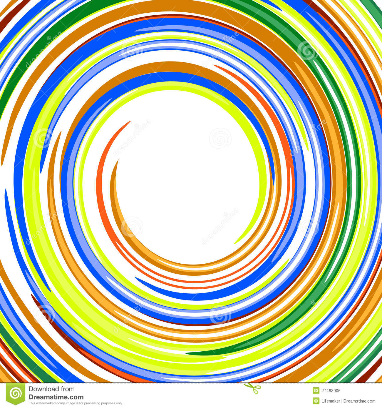 Abstract swirl glossy rainbow colors vector backgr