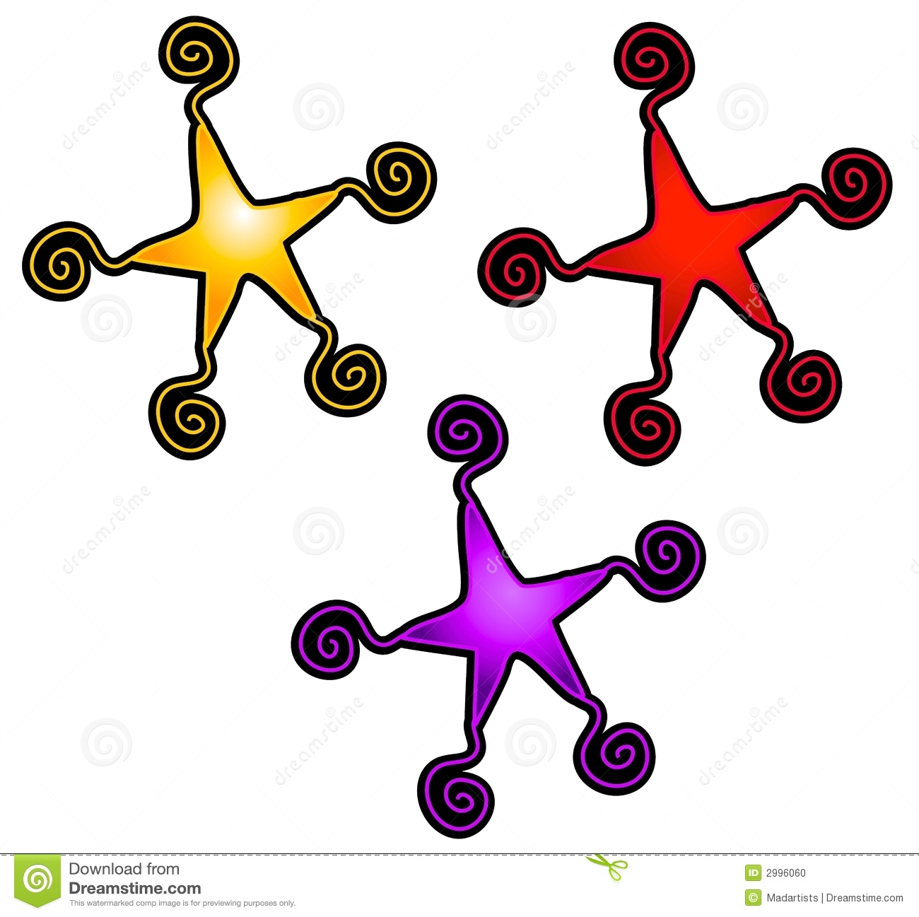 abstract swirly stars clip art stock illustration illustration of rh dreamstime com clip art of stars shapes clip art of star wars characters