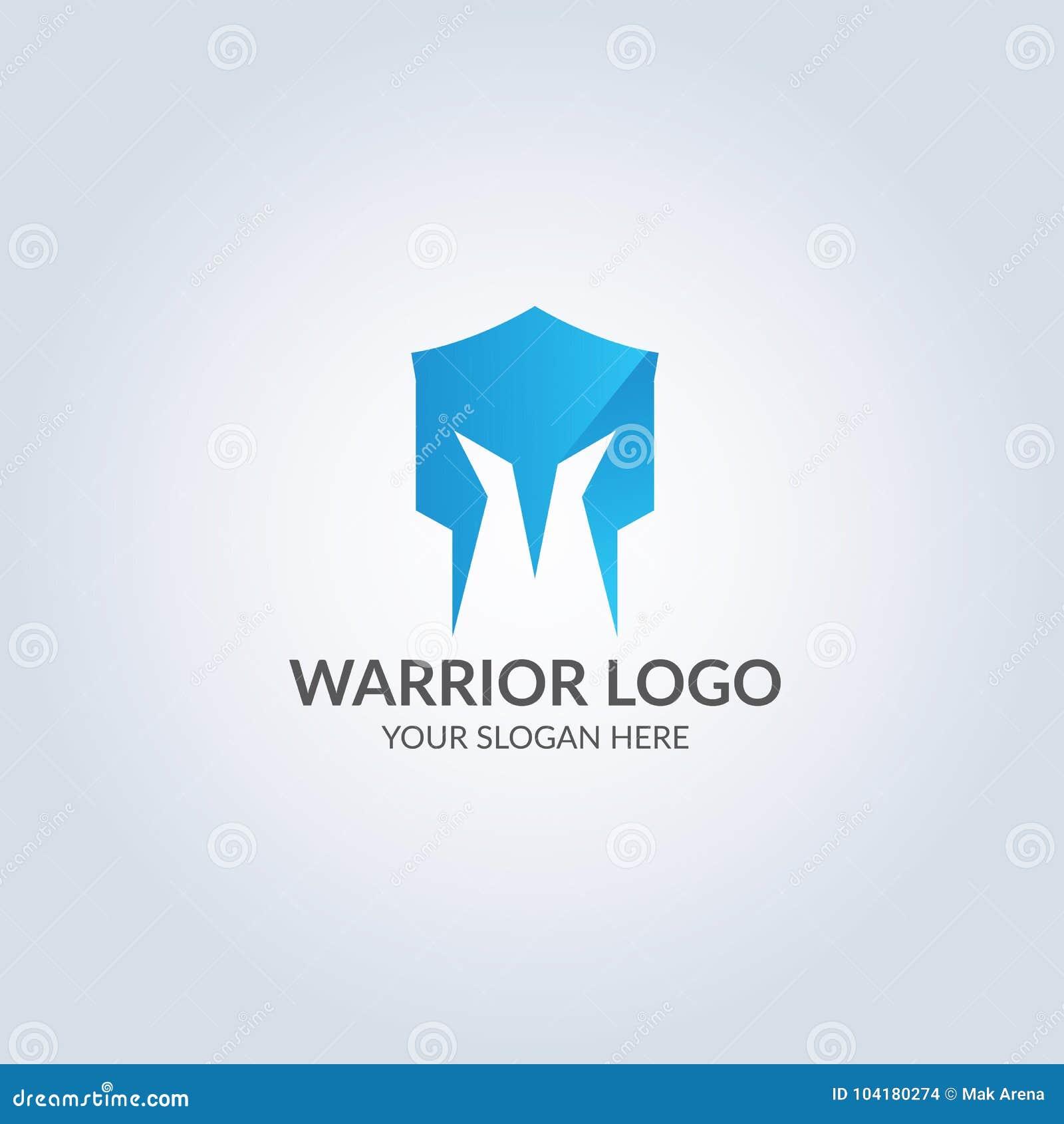 Abstract Symbol Logo In Blue Color Gradient Color ...