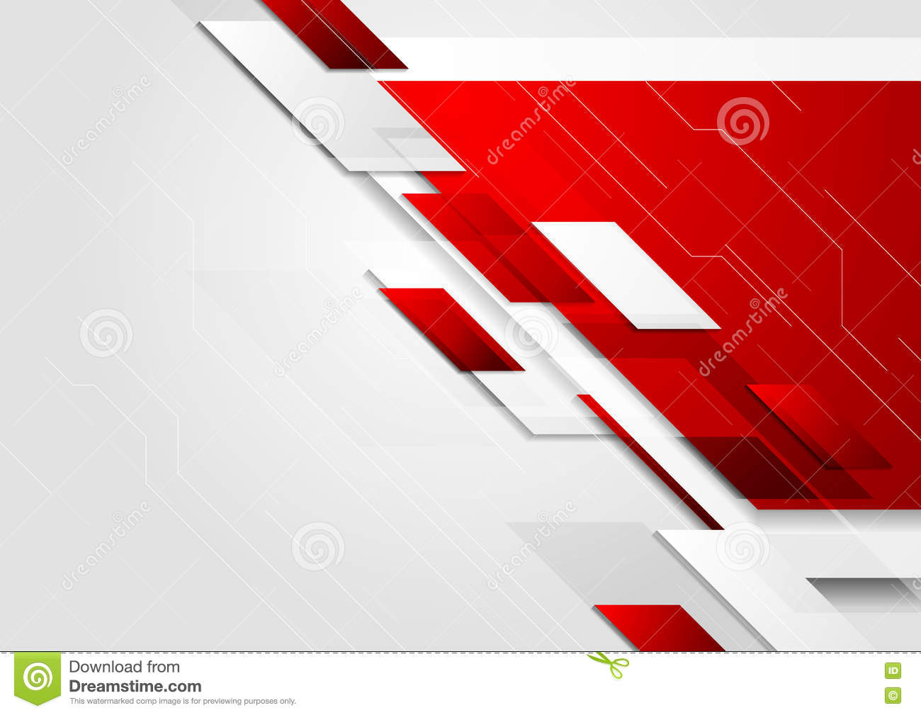 Vector Illustration Web Designs: Abstract Tech Corporate Vector Brochure Background Stock