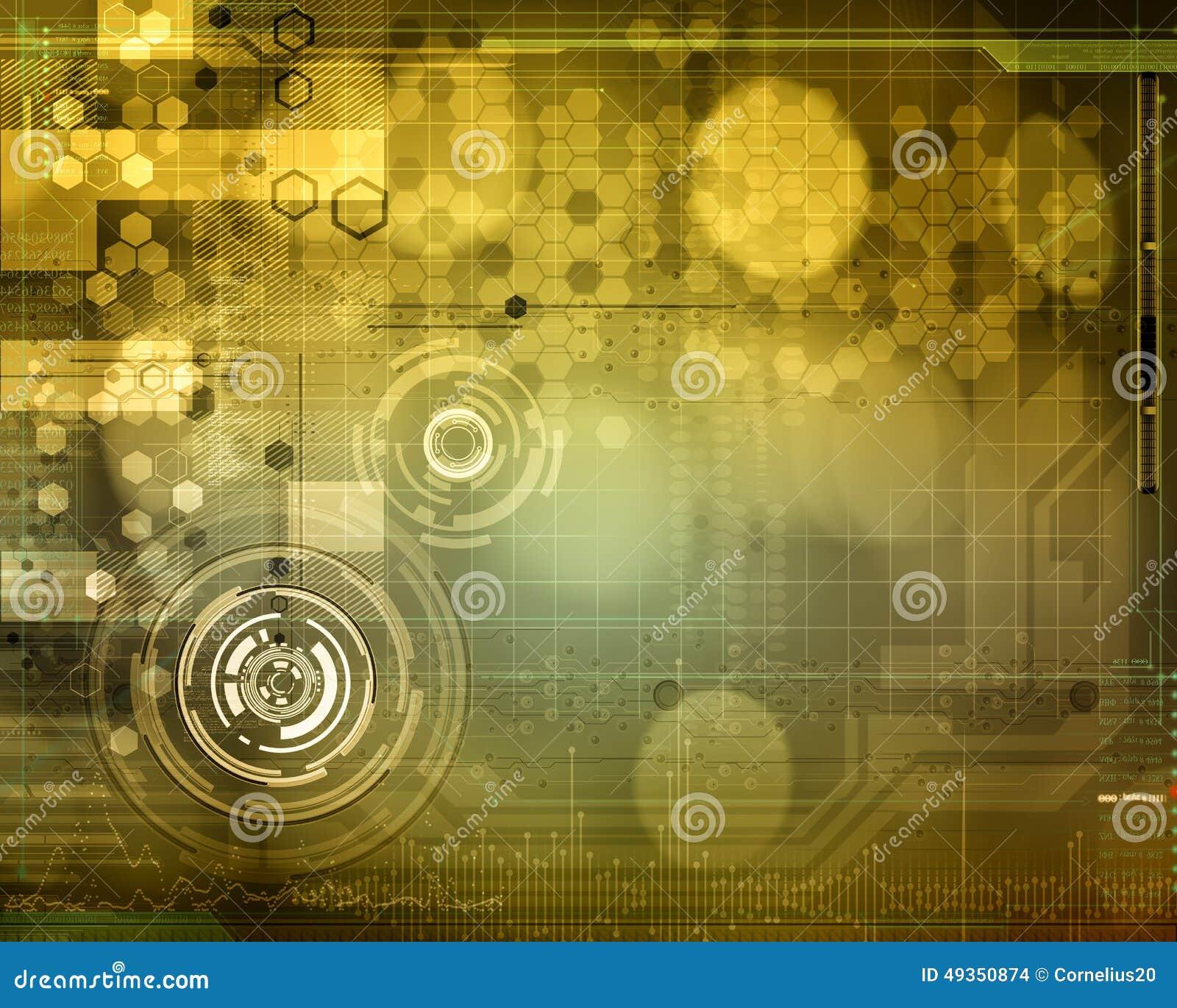 Abstract Tech Design Stock Illustration  Illustration Of