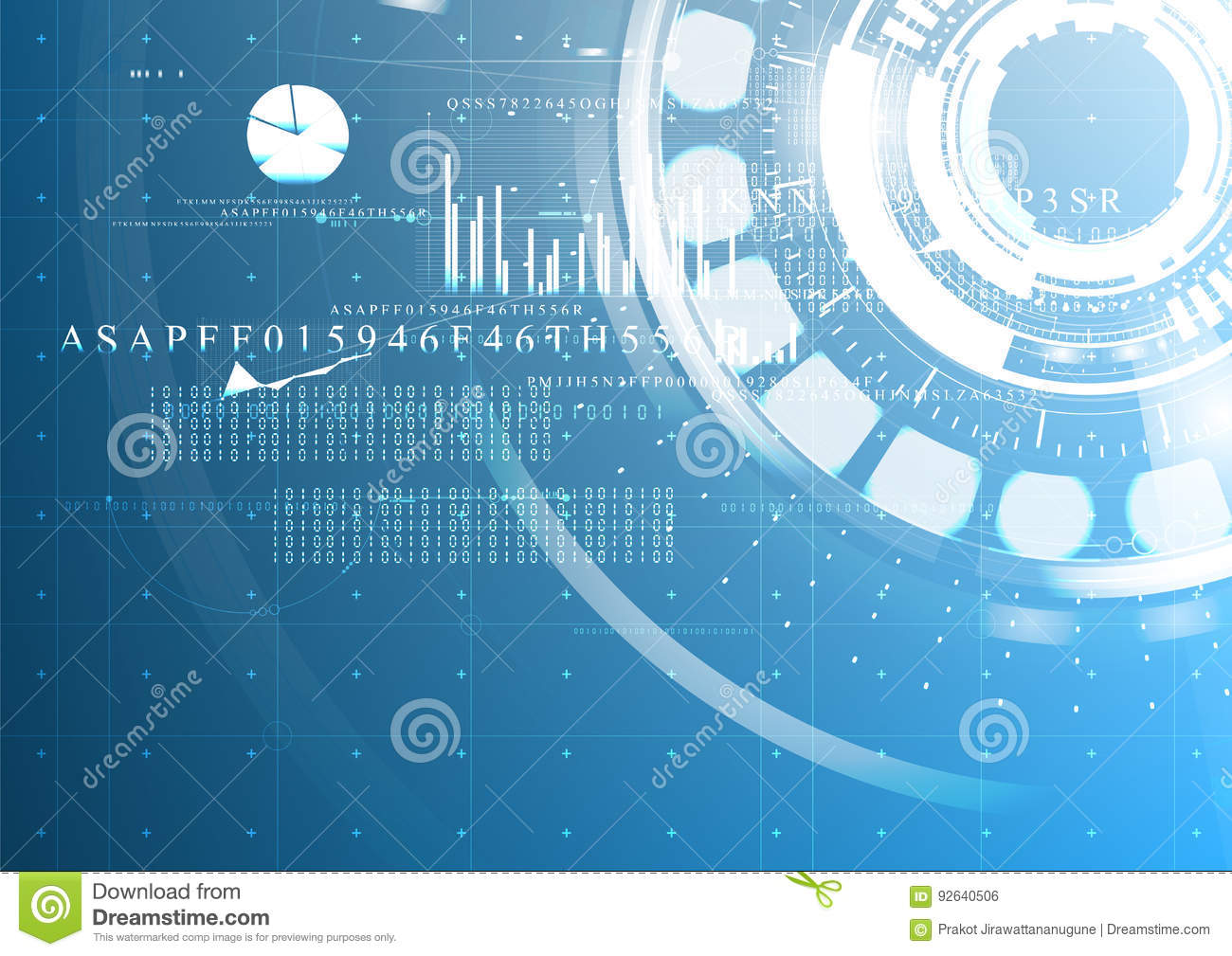 Abstract technological future interface digital blueprint stock abstract technological future interface digital blueprint malvernweather Images