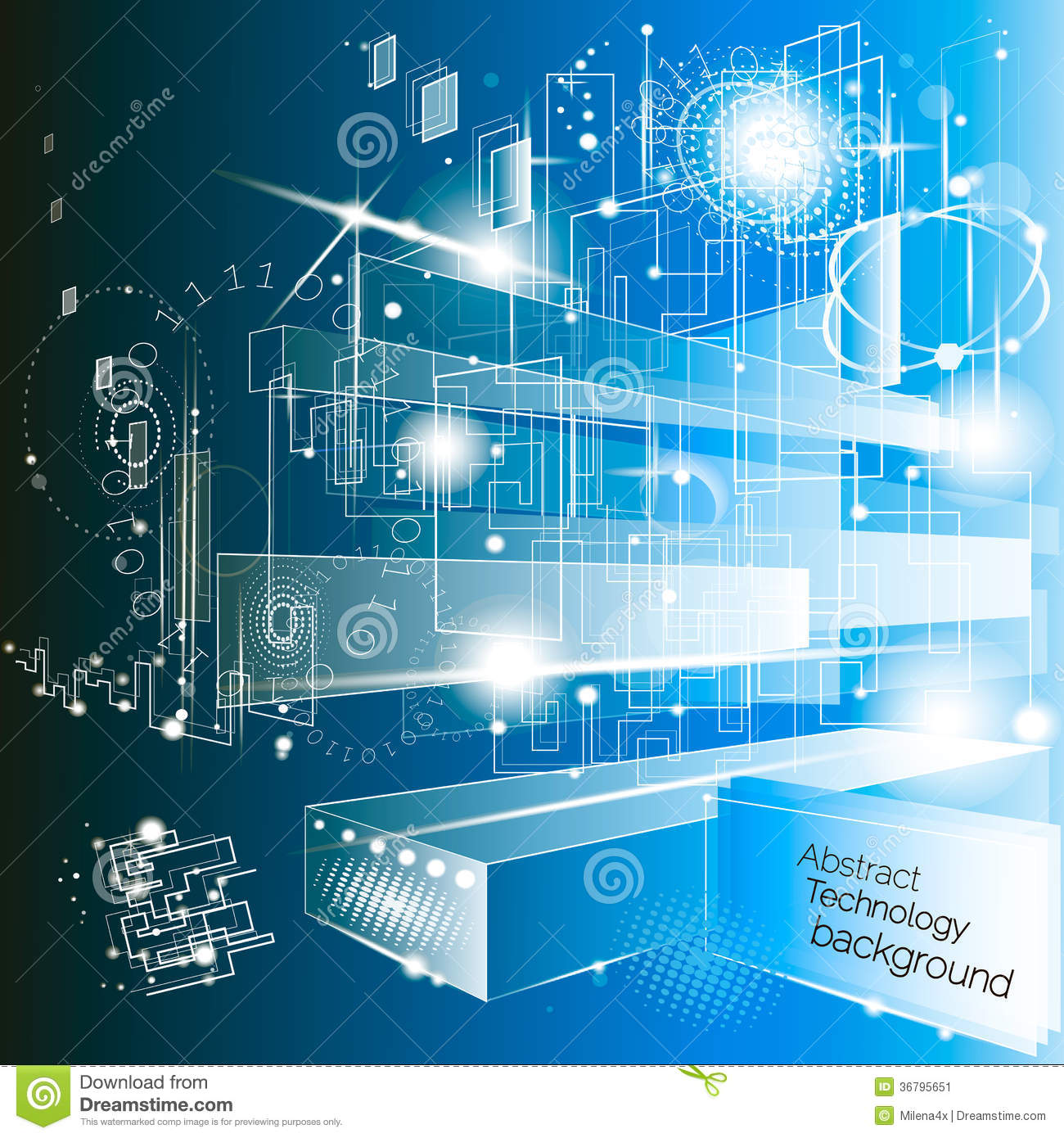 Light Circuit Science Ask Answer Wiring Diagram Board Vector Background Stock Image 45284500 Abstract Technology 36795651 Projects Worksheets