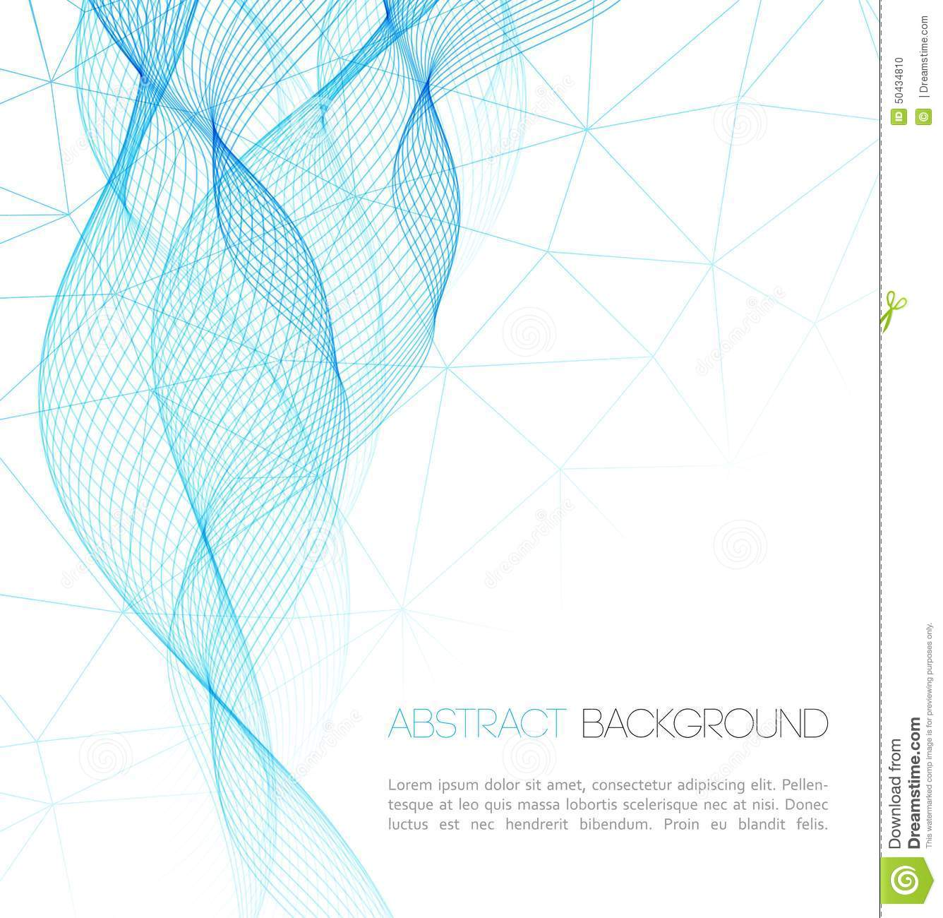 Abstract technology background template design stock for Background for brochure design