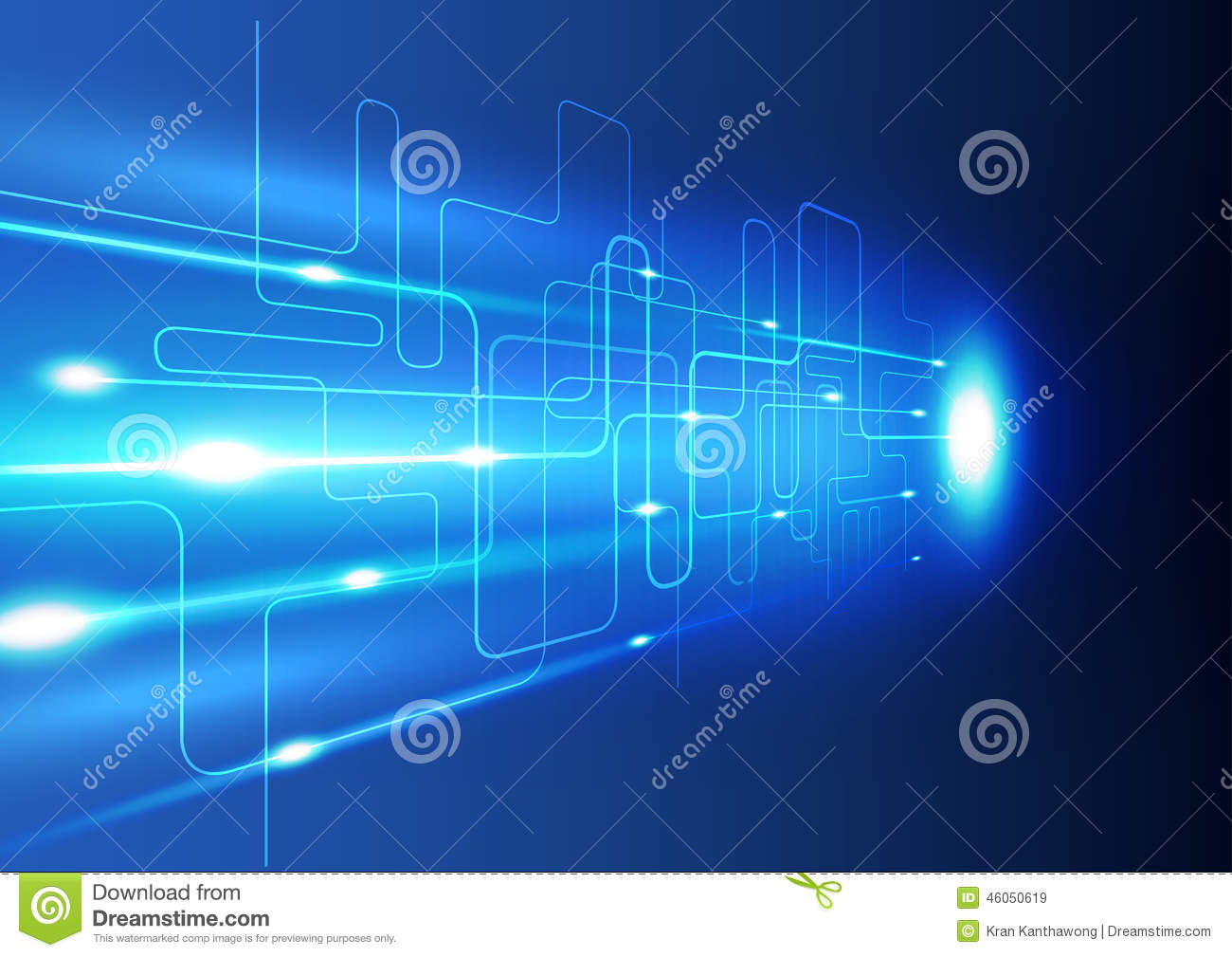 Stock Illustration Abstract Technology Innovation Background Vector Il...
