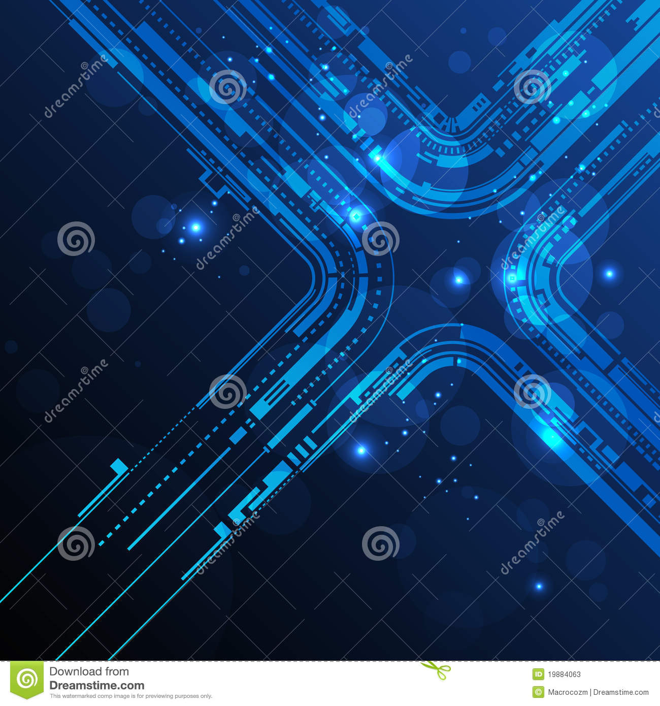 Abstract Technology Line Background Stock Photos  Image: 19884063