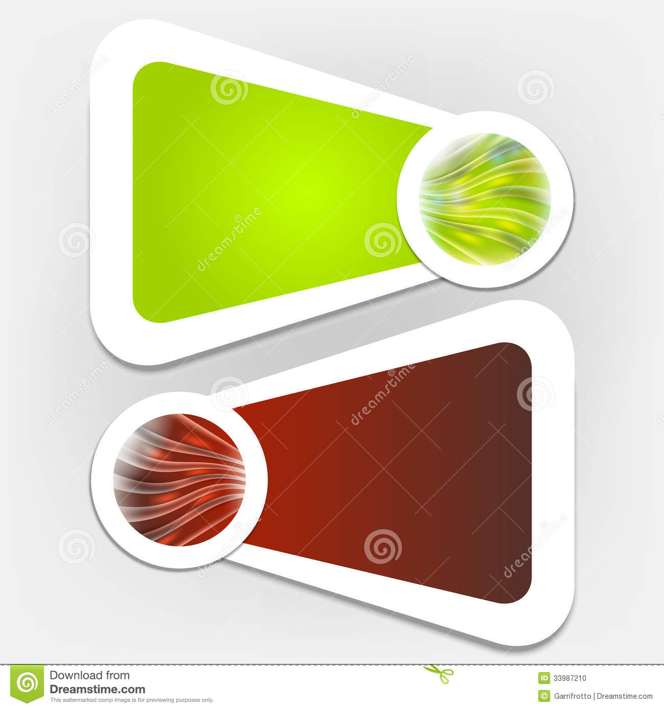 Abstract Text Box Stock Vector. Illustration Of Message