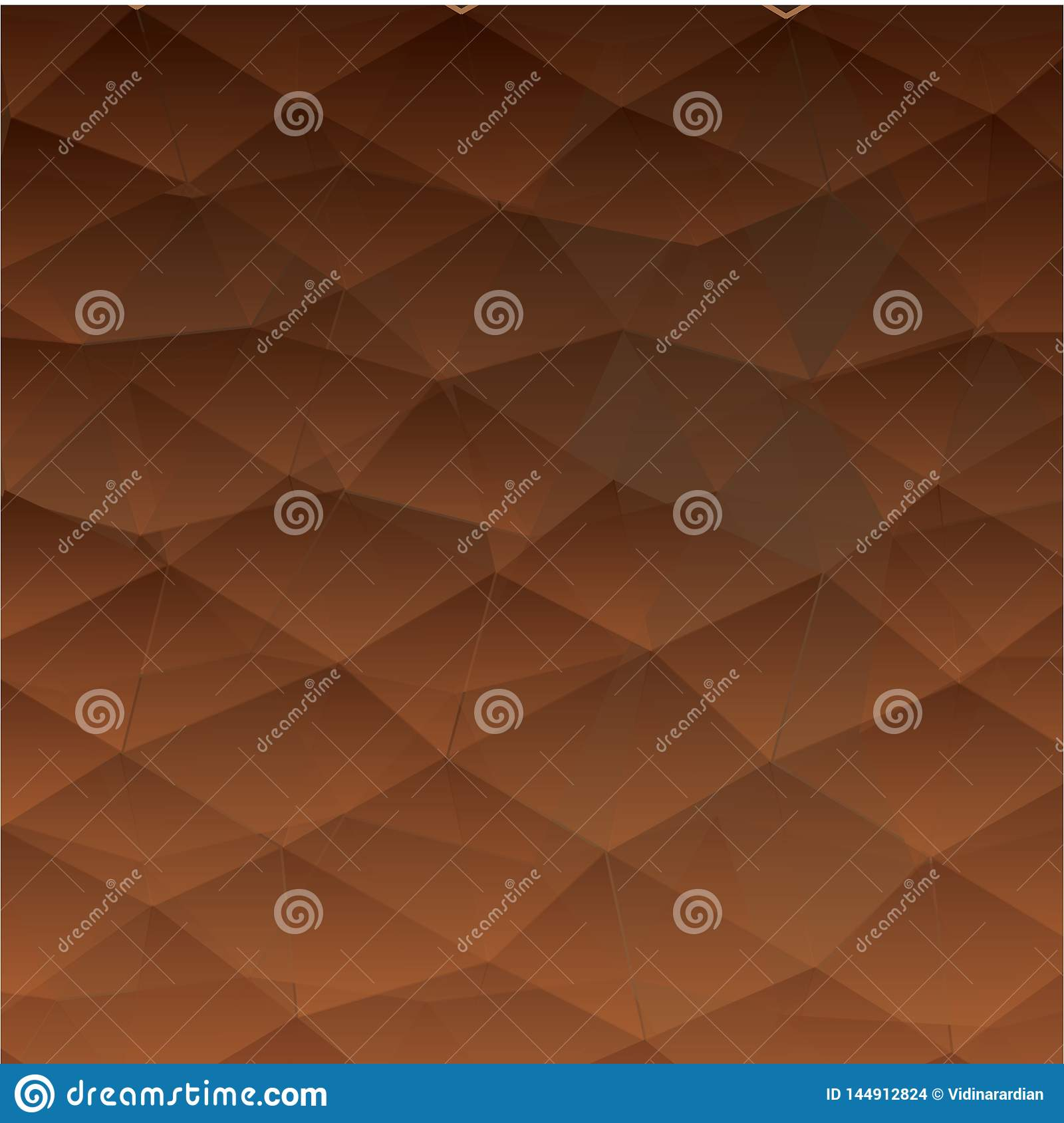 Abstract textured polygonal background. - Vector