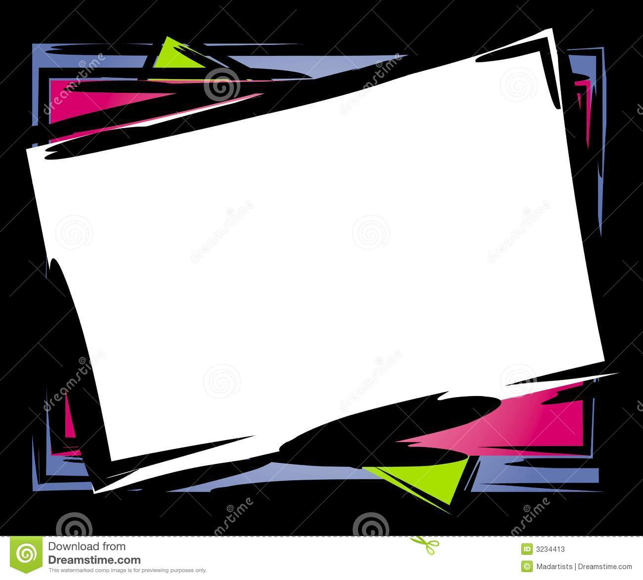 Abstract Tilted Frame Border Stock Photos Image 3234413