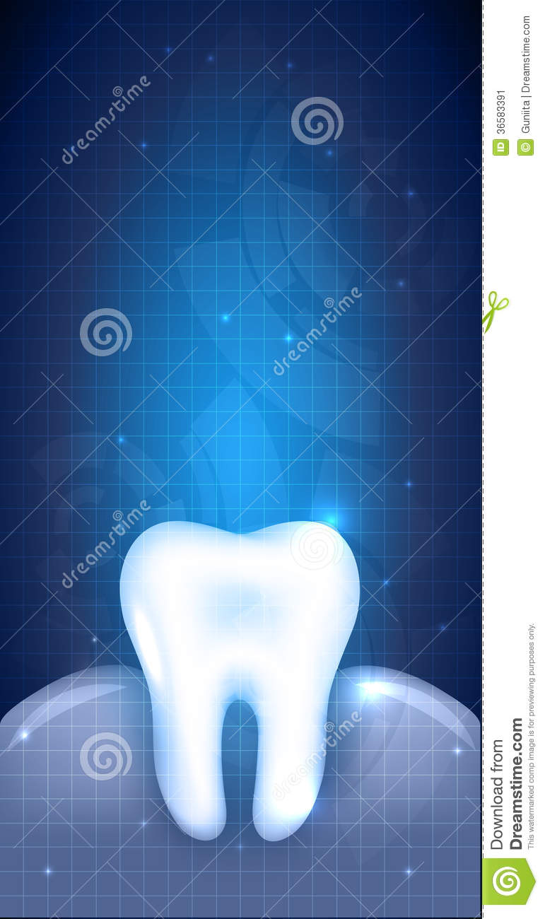 abstract tooth design dental illustration stock image
