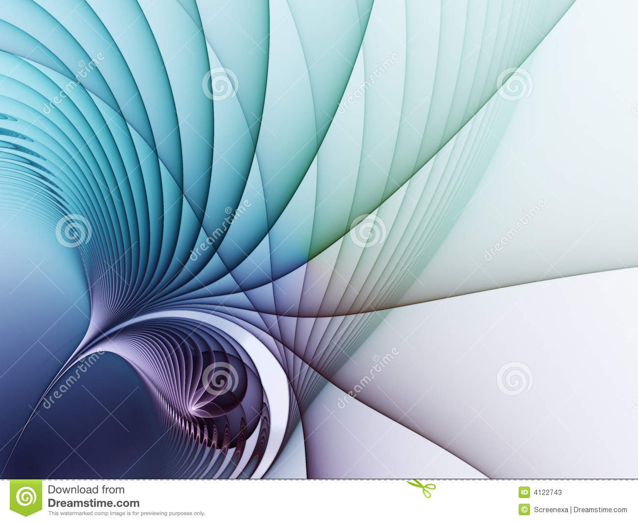 Abstract transparent background