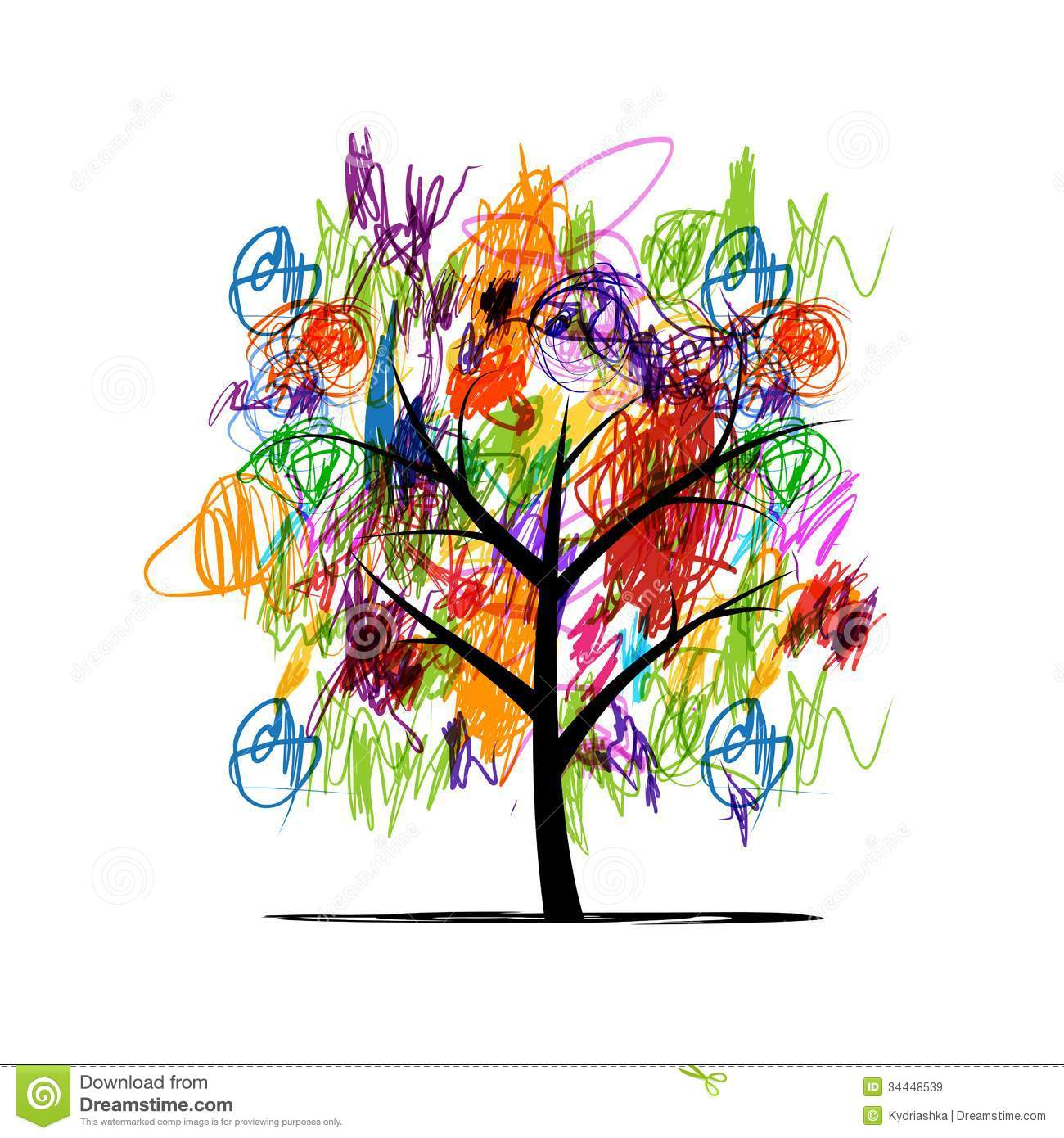 Royalty Free Stock Images Abstract Tree Children Paintings File Eps Format Image34448539 on file symbol thumbs up color