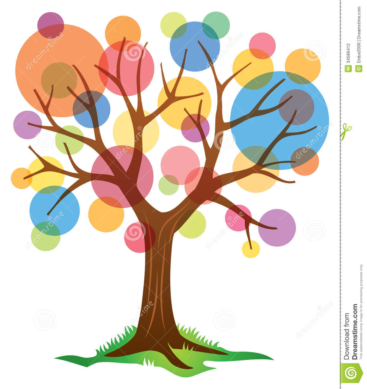 Abstract Tree Logo Stock Photography - Image: 34589412