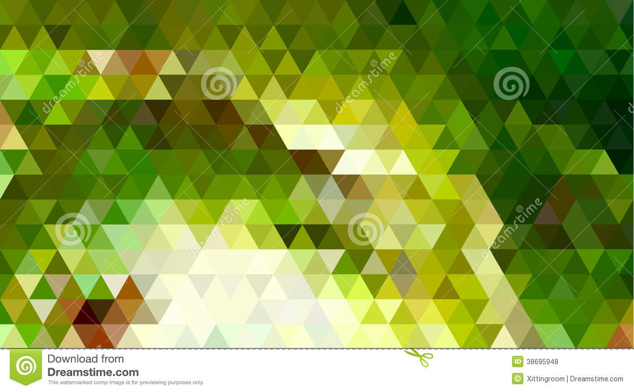 Abstract Triangle Geometrical Background Frog Stock