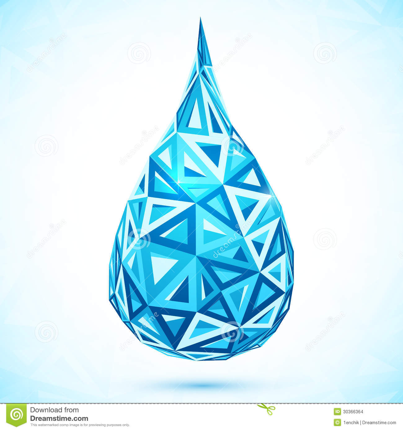 Art Water Droplet Design