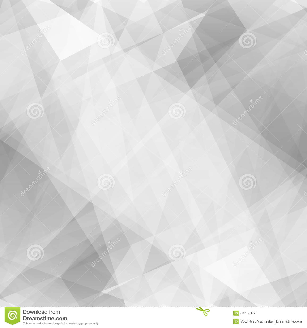 Abstract Triangular Background Stock Vector