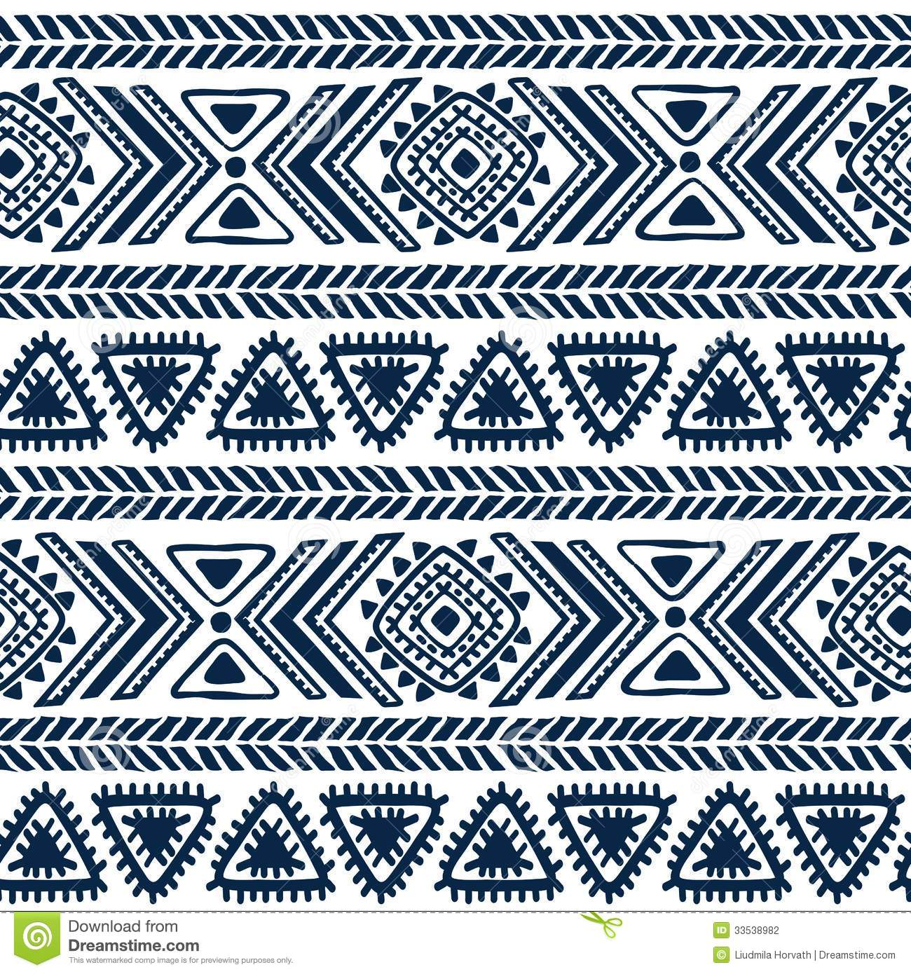 Abstract Tribal Pattern Stock Photography - Image: 33538982 - photo#13