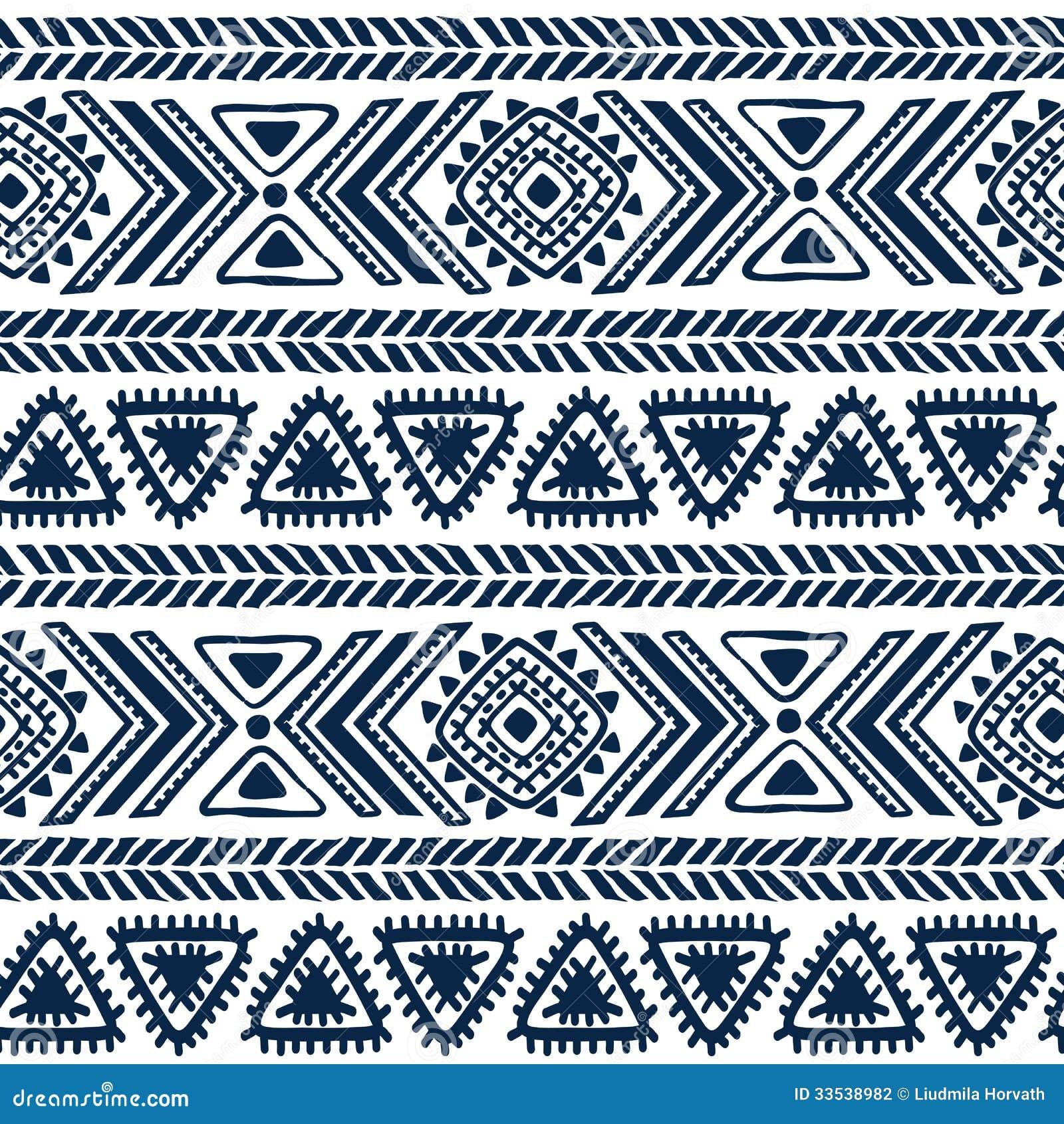 Pattern tribal tattoo 3d