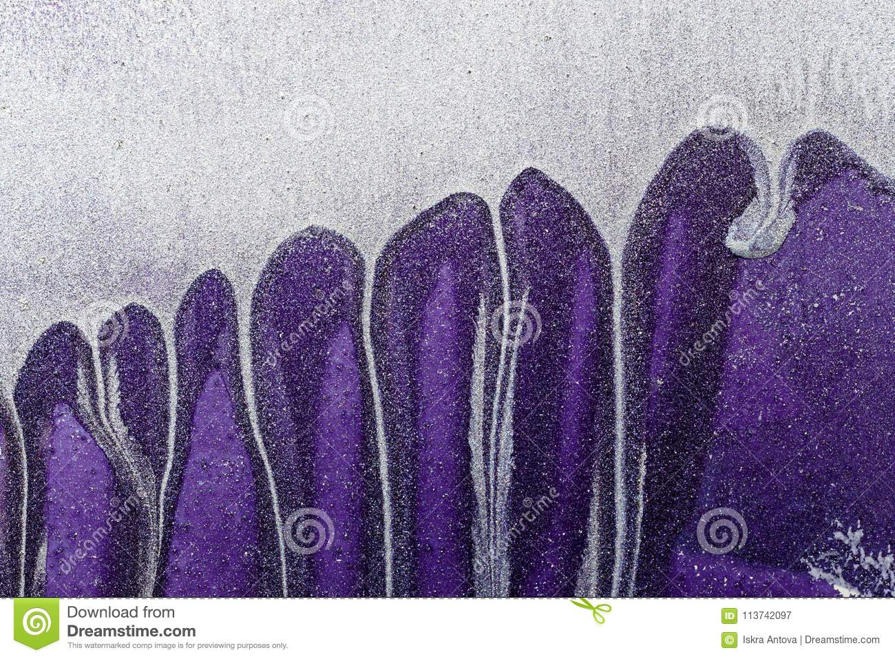 Abstract Ultra Violet Background. Metal Surface.