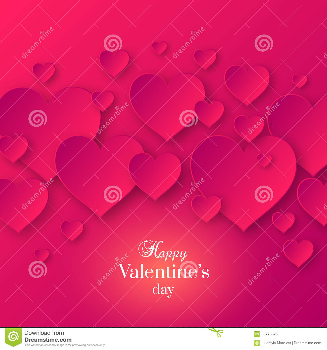Abstract Valentine& x27;s day pink color background