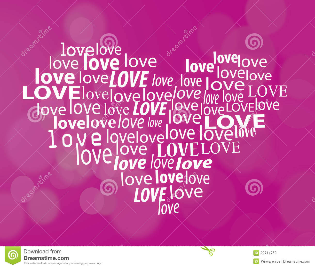 Download Fonts For Word >> Valentines Love Heart Stock Photography - Image: 22714752