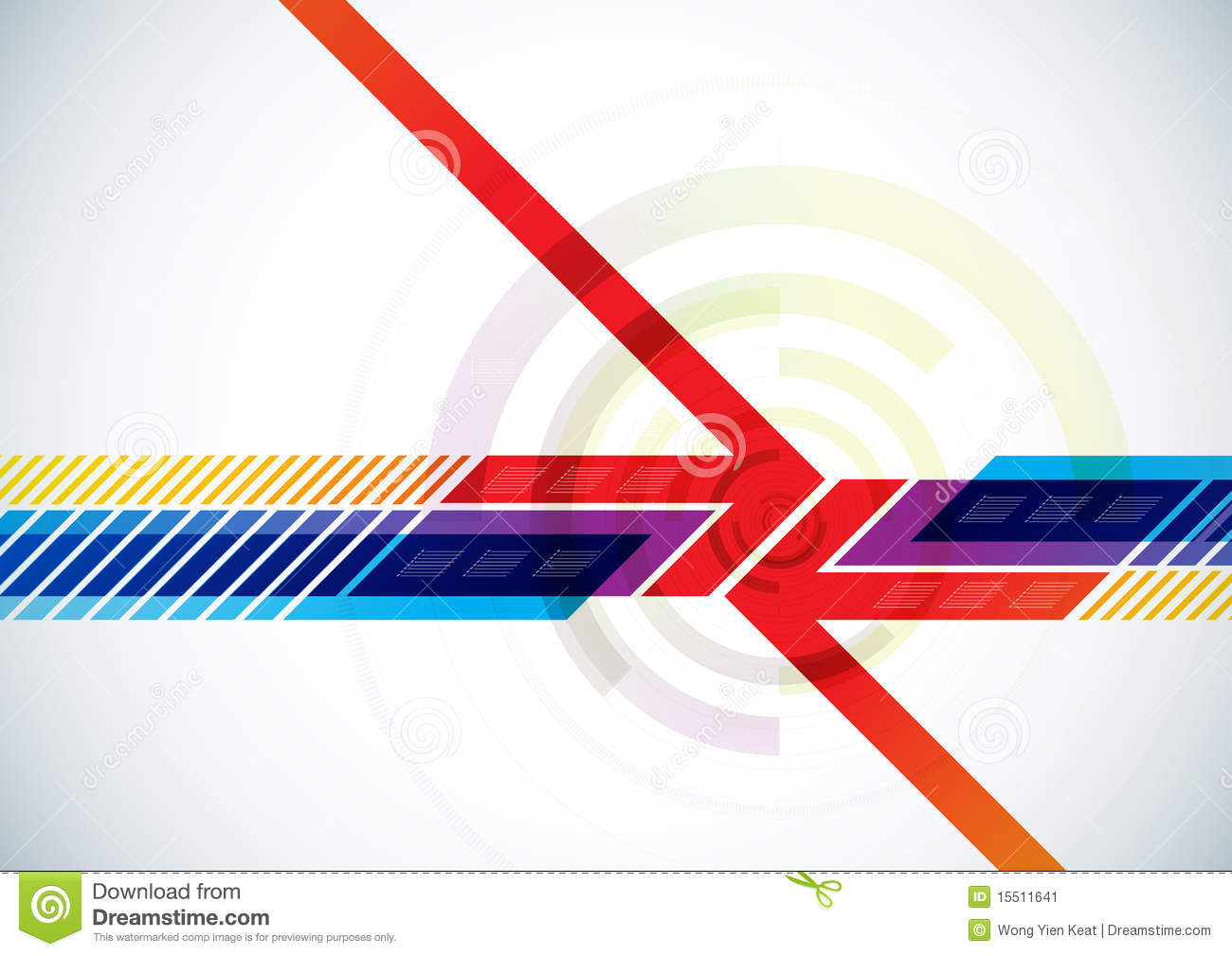 Abstract Vector Background Stock Image - Image: 15511641