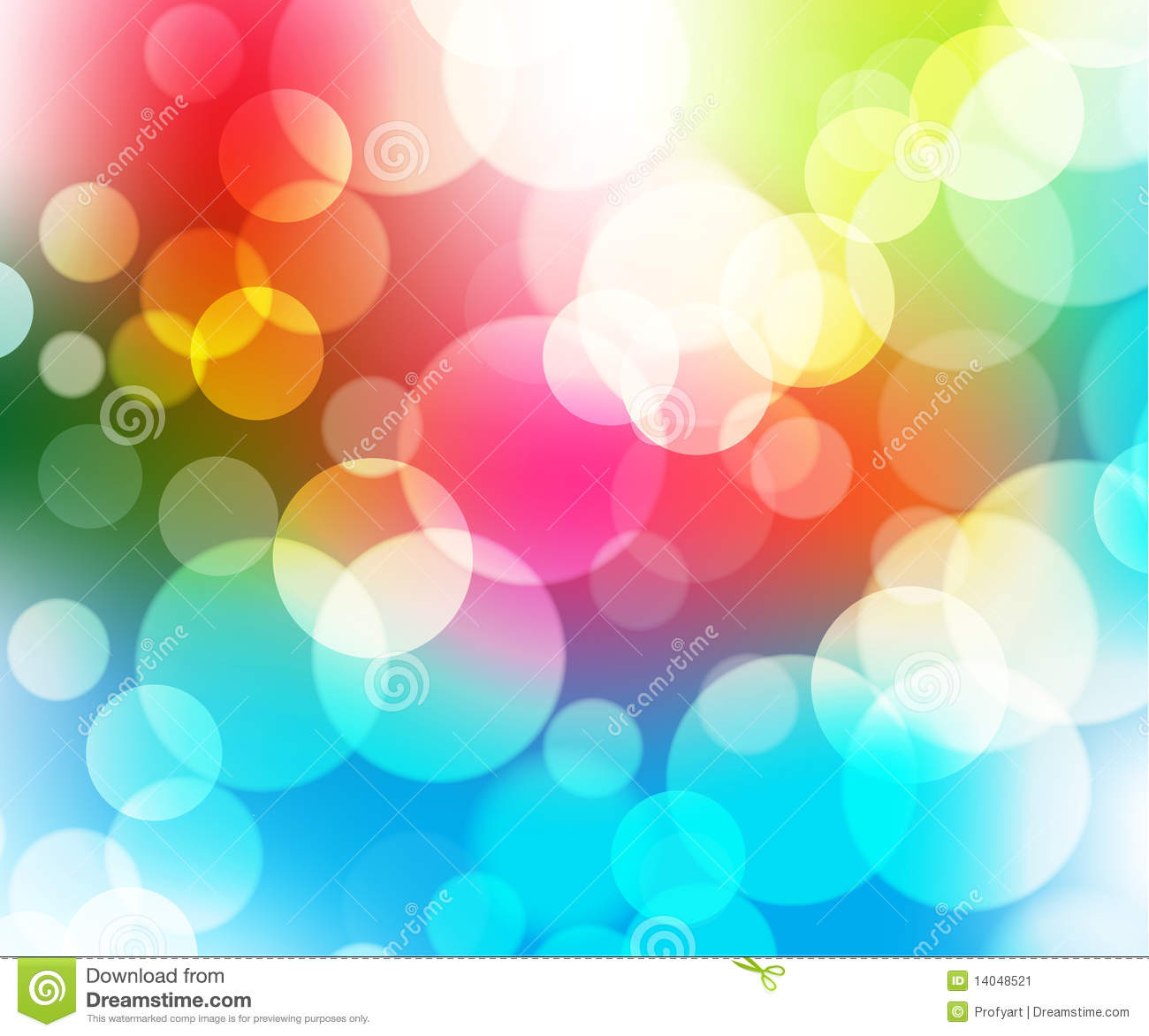 Abstract vector background with circles 2