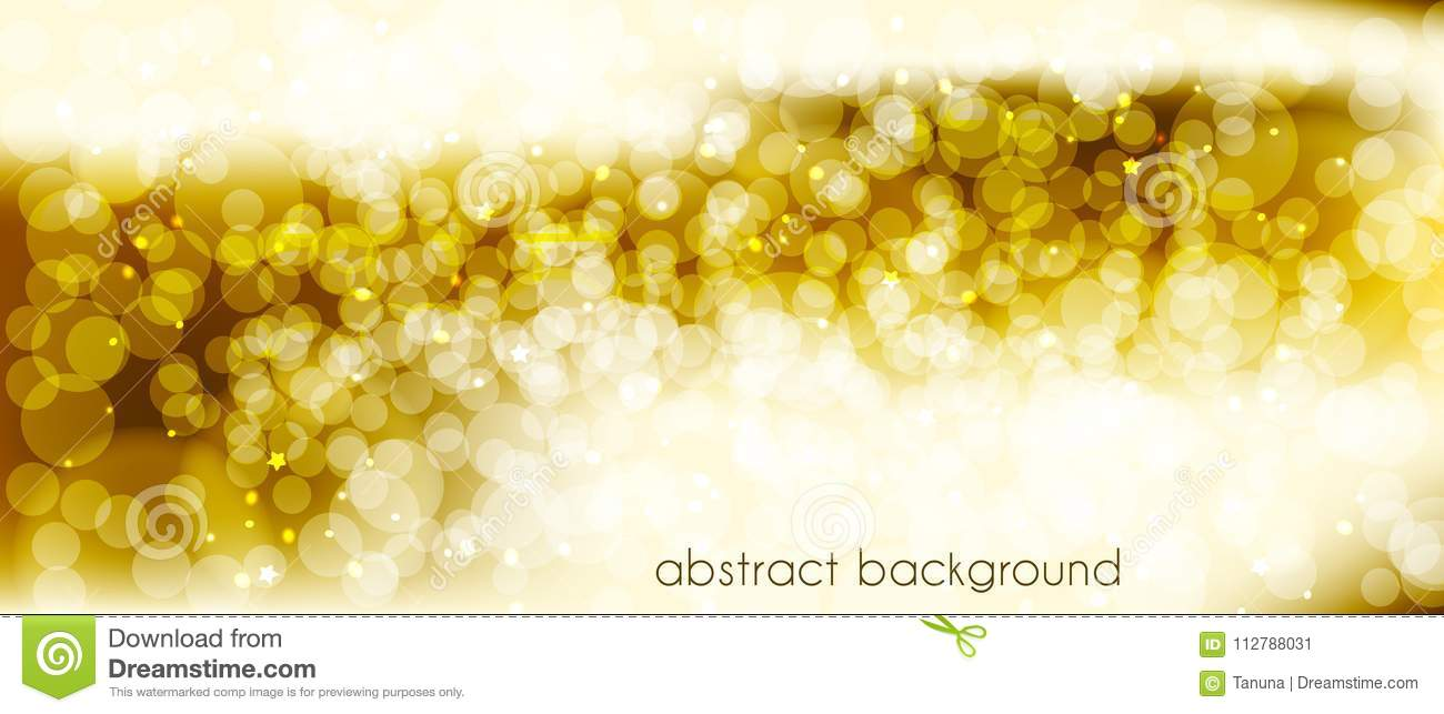 Abstract vector background in gold tones. Backdrop for decorating the site`s Header, banner, holiday cards, congratulations