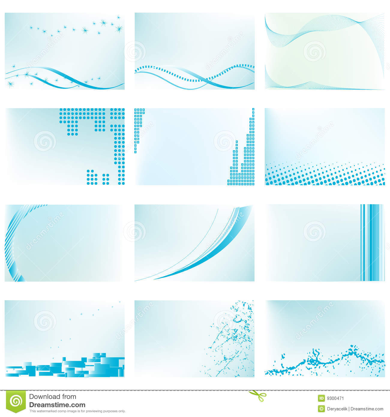 Abstract Vector Background Templates Stock Image - Image: 9300471