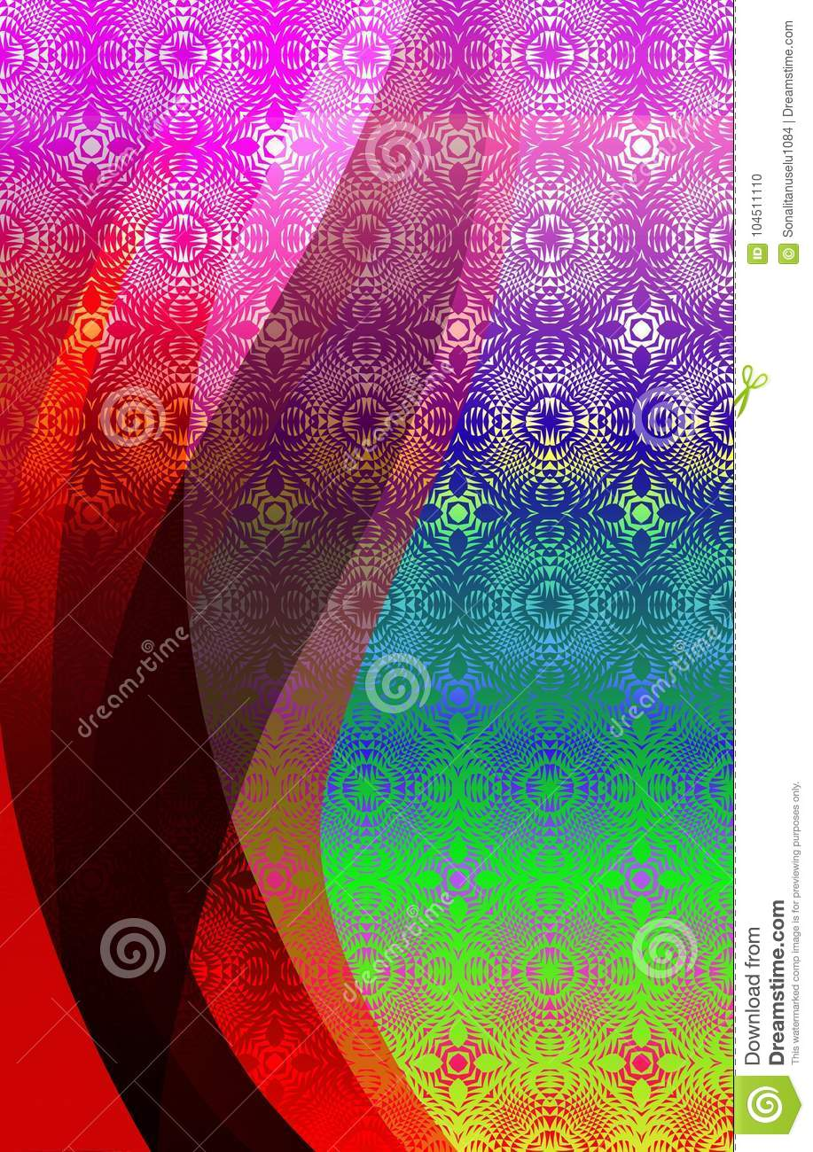 Abstract vector colorful textured shaded Background. Vector Illustration