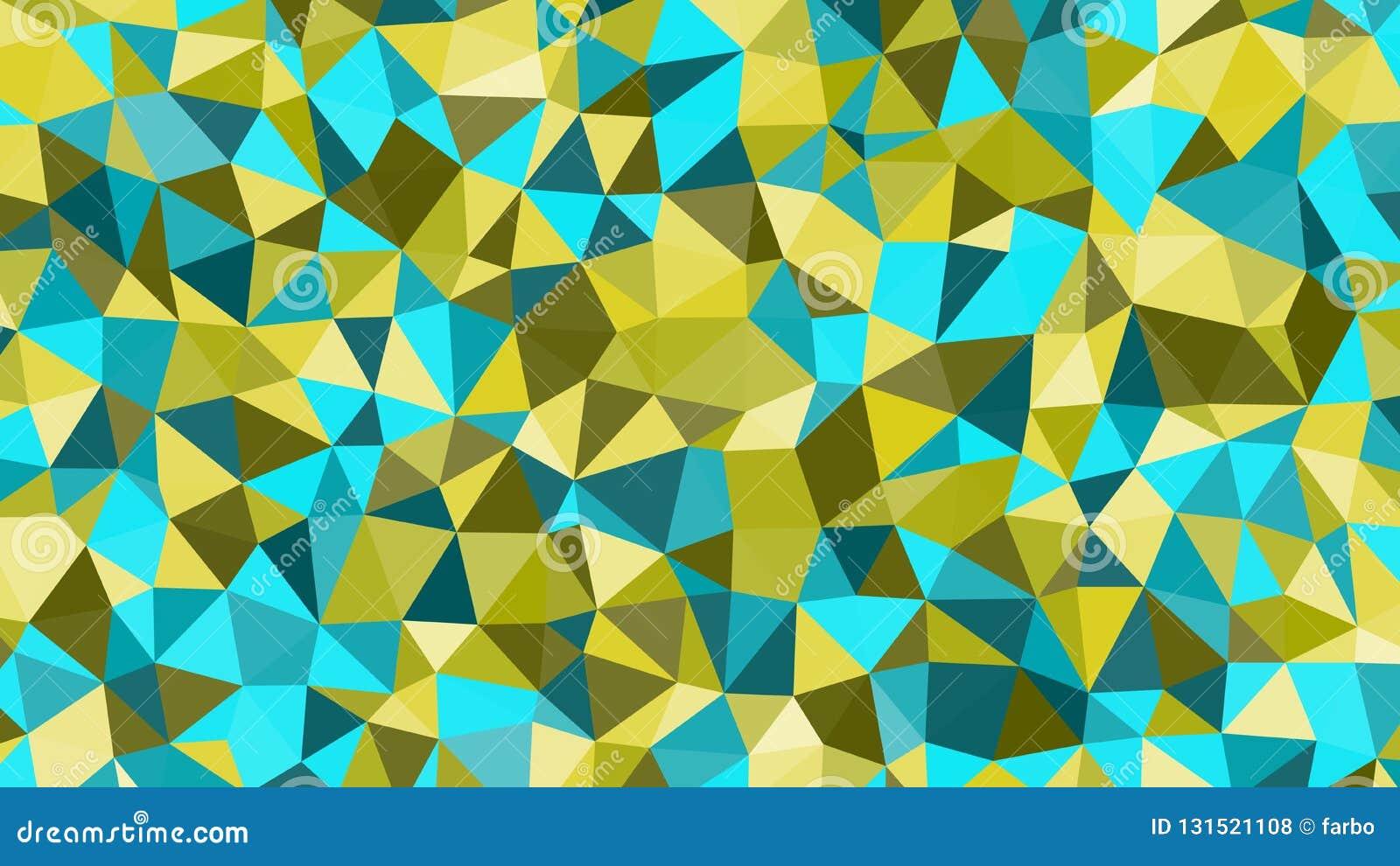 Abstract vector in colorfull driehoekig patroon Moderne veelhoekige achtergrond